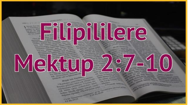 11 Filipililere 2:7-10