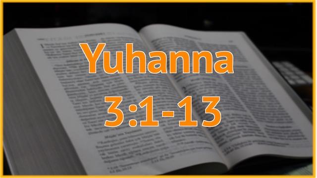 13 Juhanna 3-1-13