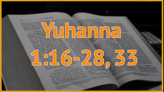5 Juhanna 1:16-28