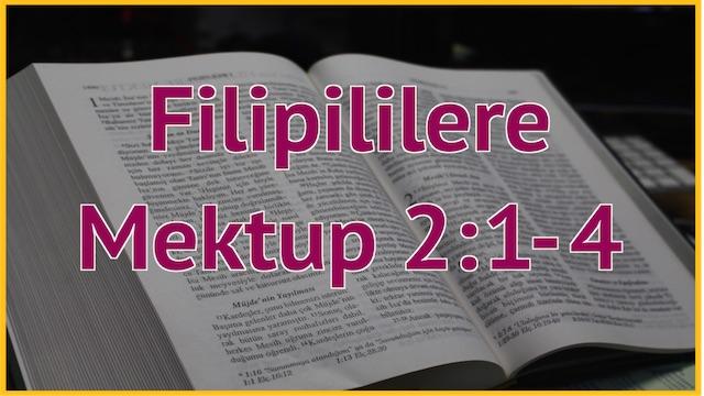 9 Filipililere 2:1-4
